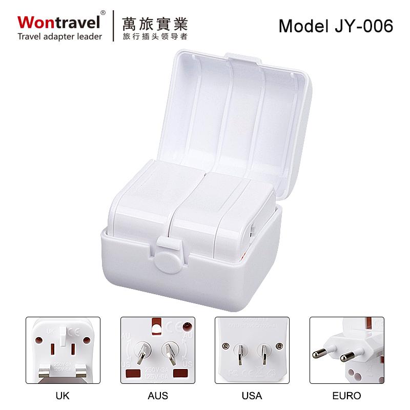 旅行插座不帶USB JY-006