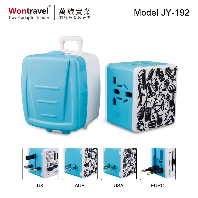 禮品熱銷旅行插頭 JY-192